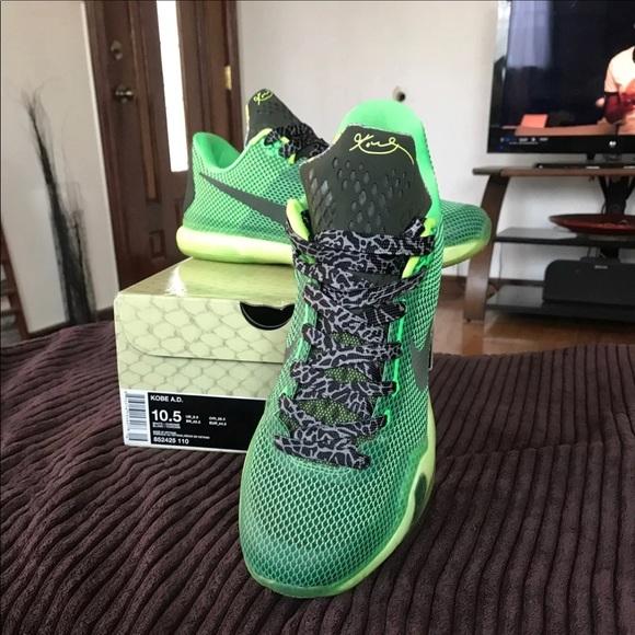 Nike Shoes   Kobe Ad Lime Green Snake
